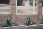 Barton ACT Brick fencing 12